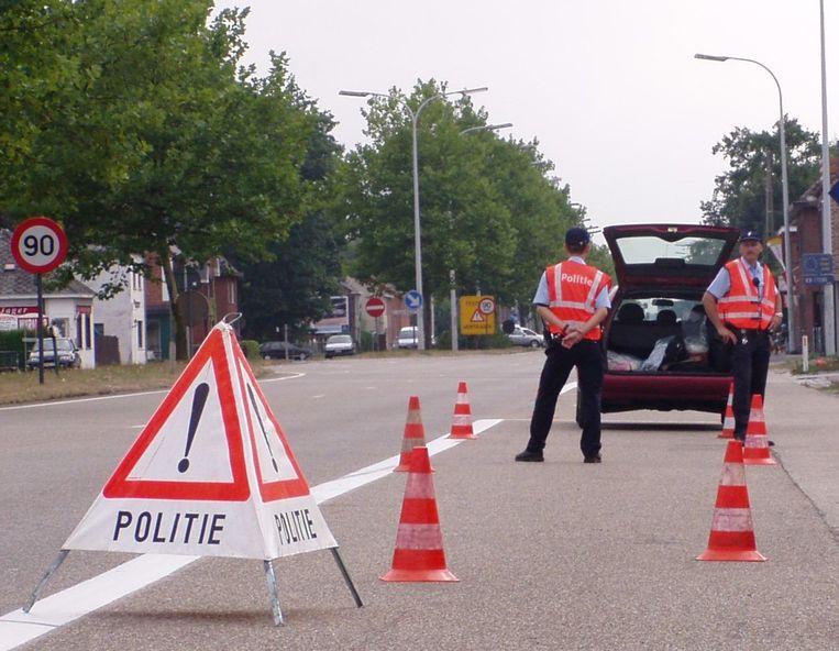 De politie haalde voor 6.000 euro achterstelling verkeersbelasting op