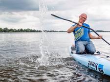 'Breathe, smile, paddle'