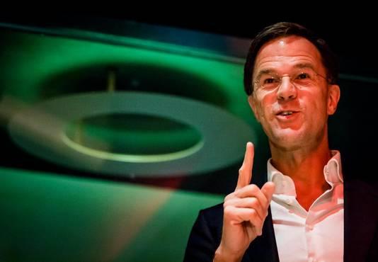 Mark Rutte in het Volkshotel