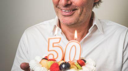 """Chris Van Tongelen viert zijn verjaardag: """"Ik ben trots dat ik al 50 jaar geen vijanden heb"""""""
