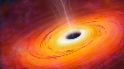 Eerste foto van zwart gat