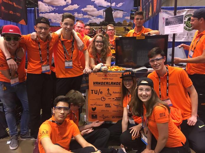 Leerlingen van het Zwijsen College Veghel haalden de kwartfinale.