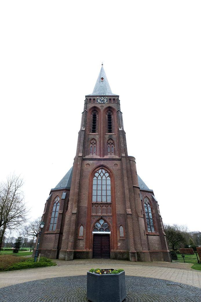 """De kerk van Baak. ,,We hebben al een ruïne in Baak, maar willen er niet nog een hebben."""""""