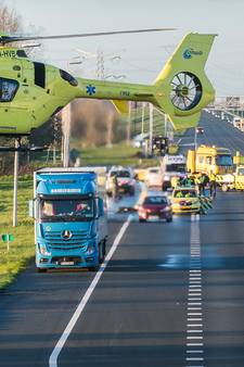Lange file na ernstig ongeval op A2 bij Maarssen