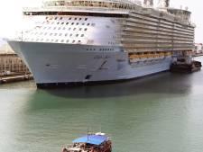 Megacruisechip eerder in Rotterdam verwacht