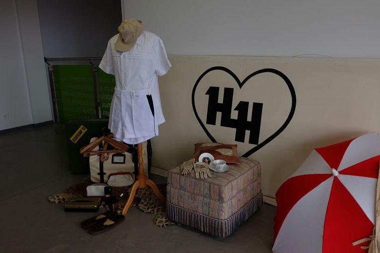 Enkele spullen van wijlen Harry Heylen.