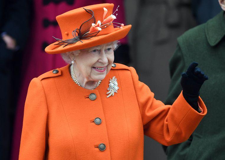 De Britse koningin Elizabeth verwacht haar zevende achterkleinkind.
