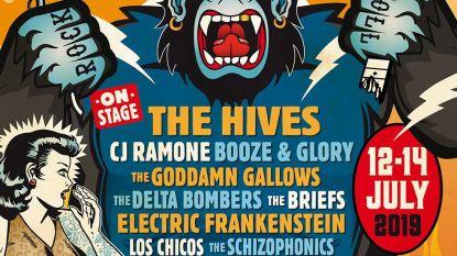 The Hives headliner op Sjock Festival