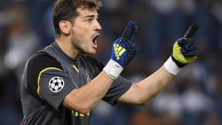 Casillas heeft record beet: twintigste Champions League-seizoen op rij onder de lat