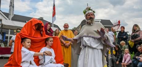 1800 Jaar terug in de tijd: Ermelo geniet van Romeinse bruiloft