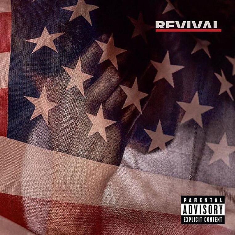 Het nieuwe album Revival van Eminem. Beeld