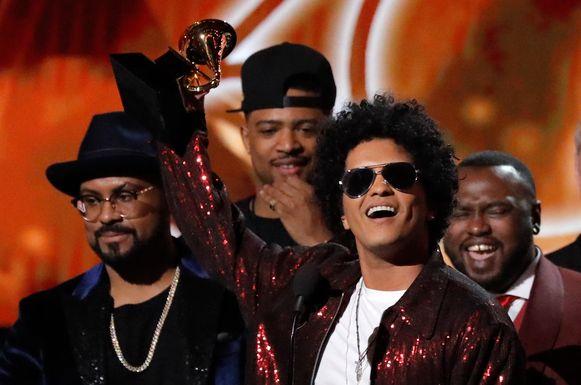 60th Annual Grammy Awards - Bruno Mars ging met gewilde prijzen aan de haal.