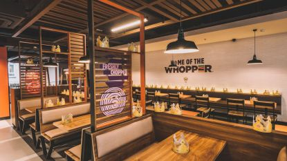 Burger King opent restaurant in Waasland Shopping Center