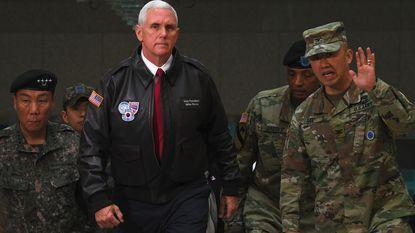 """Pence waarschuwt Noord-Korea: """"Tijd van strategisch geduld is voorbij"""""""