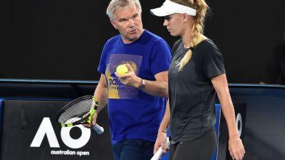 """Vader Wozniacki onder de indruk van Mertens: """"Hebben het laatste nog niet gehoord van haar"""""""