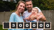 """Nationale sms-actie voor doodzieke baby Pia is gigantisch succes: """"Al meer dan 300.000 sms'jes verstuurd"""""""