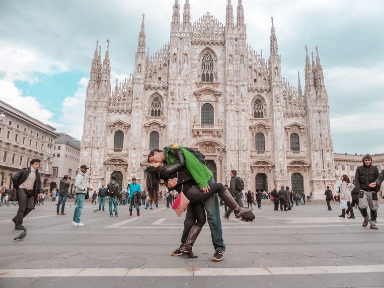 In Milaan.