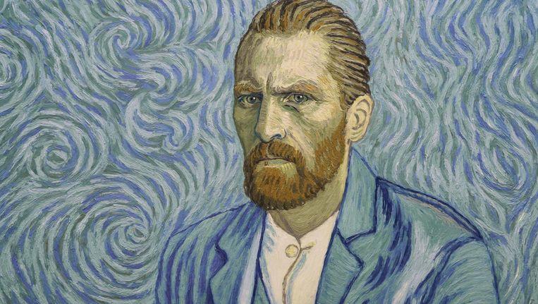 Elk beeld in Loving Vincent is gebaseerd op een schilderij van Vincent van Gogh Beeld -