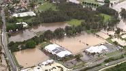 Naast de bosbranden wordt Australië nu ook geteisterd door zondvloed