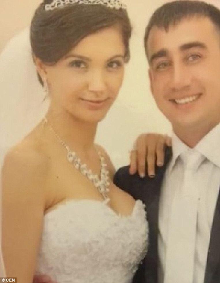 Veronika en haar man, die in november vorig jaar de scheiding aanvroeg.