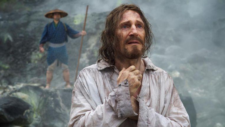 Liam Neeson als Rodrigues, een jezuïtisch priester in zeventiende-eeuws Japan, waar christenen worden vervolgd Beeld -