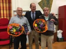 Nijverbij voor Hengelose vrijwilligers Wouter van Asselt en Frits Kokhuis