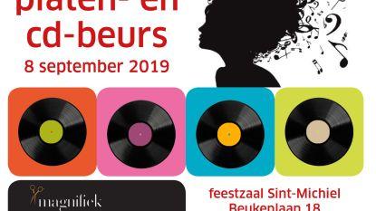 Tweede platen- en cd-beurs in feestzaal Sint-Michiel