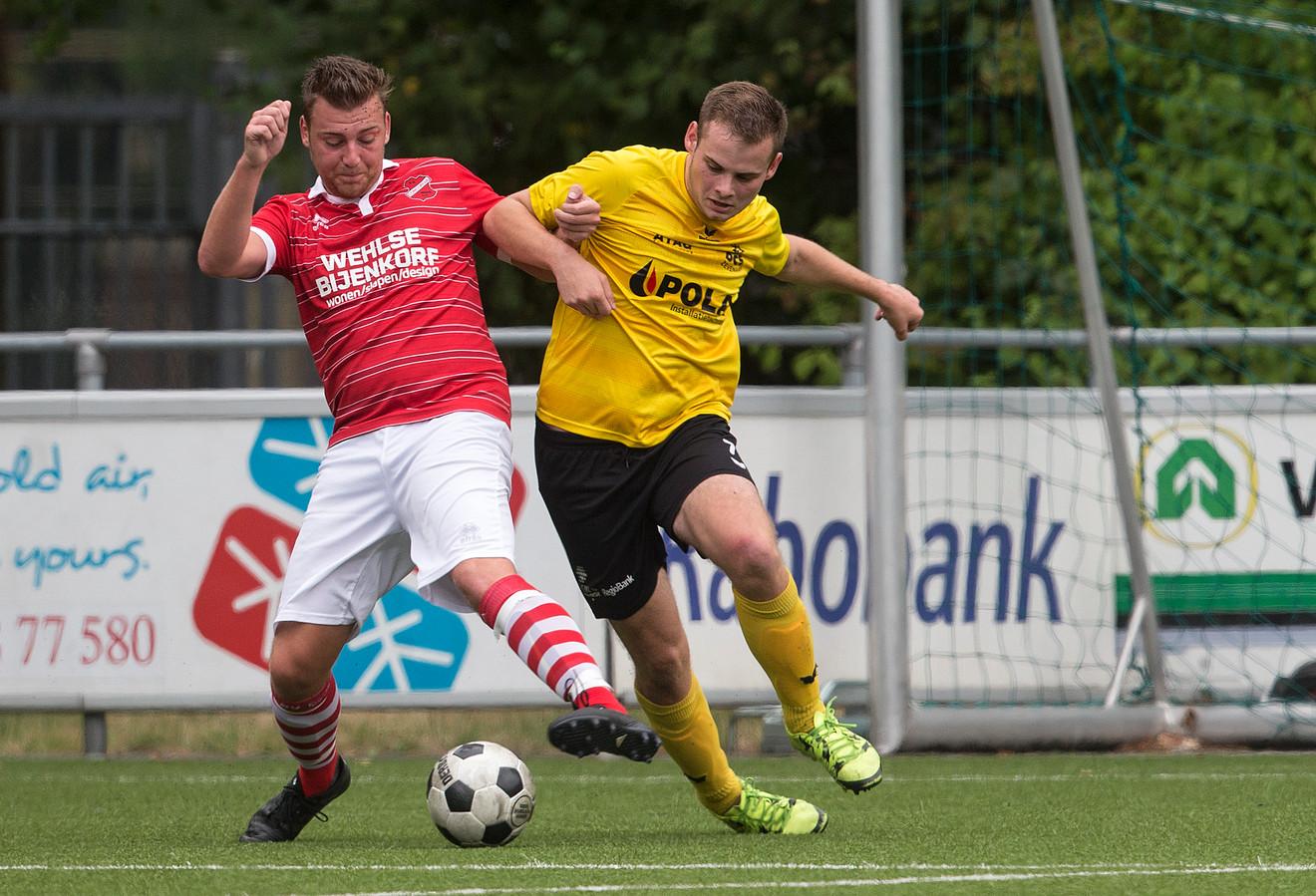 DCS speelde met 1-1 gelijk tegen Concordia Wehl.