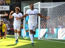 Haller leidt West Ham met eerste Premier League-goals langs Watford