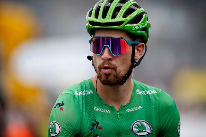 Peter Sagan is zijn dagelijkse groene Tour-kloffie. Na de Ronde showt hij het exclusief in Etten-Leur .