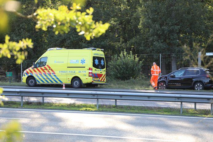 Ambulance en politie waren snel ter plaatse.