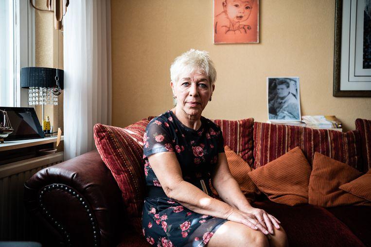 Ria Petri thuis in Maastricht Beeld Katja Poelwijk