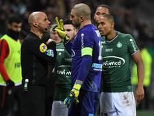 Monaco haalt uit tegen tiental Saint-Étienne