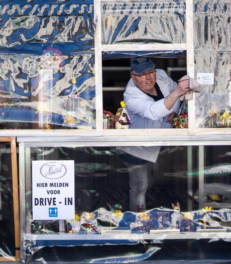 Helpt deze drive-in voor paaseitjes Mousset in Arnhem om te overleven?