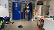 """KRC Bissegem krijgt inbrekers over de vloer: """"Eén laptop weg, maar vooral veel schade"""""""