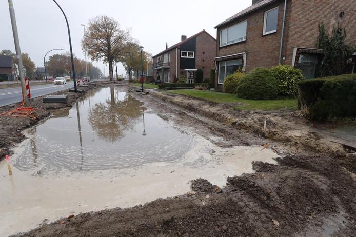 Wateroverlast in Nuenen