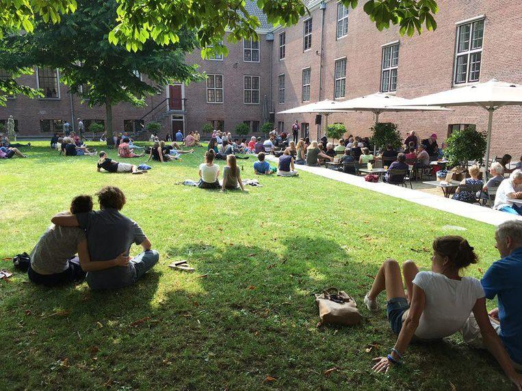 De jazzfeestjes in de Hermitage en de Hortus zijn nog heel juli en augustus in het weekend te bezoeken. Beeld De Hermitage