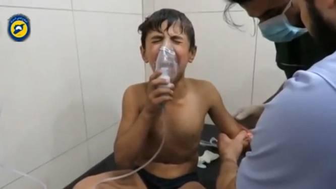 """VN-rapport vernietigend voor Syrische leger (en ook Rusland): """"Chloorgas gebruikt in Aleppo"""""""