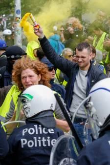 Gilets jaunes à Bruxelles: 350 interpellations
