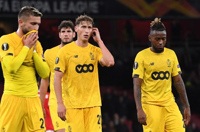 Le Standard a vécu une tès mauvaise soirée à l'Emirates Stadium d'Arsenal ce jeudi soir en s'inclinant lourdement face aux Gunners (0-4).