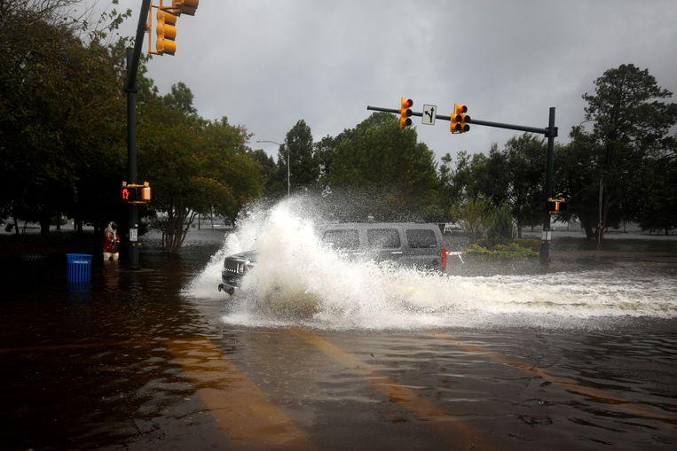 De Amerikanen ondervinden inmiddels aan den lijve de gevolgen van orkaan Florence.
