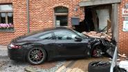 Café De Graef blijft nog zeker week gesloten nadat Porsche er binnen reed
