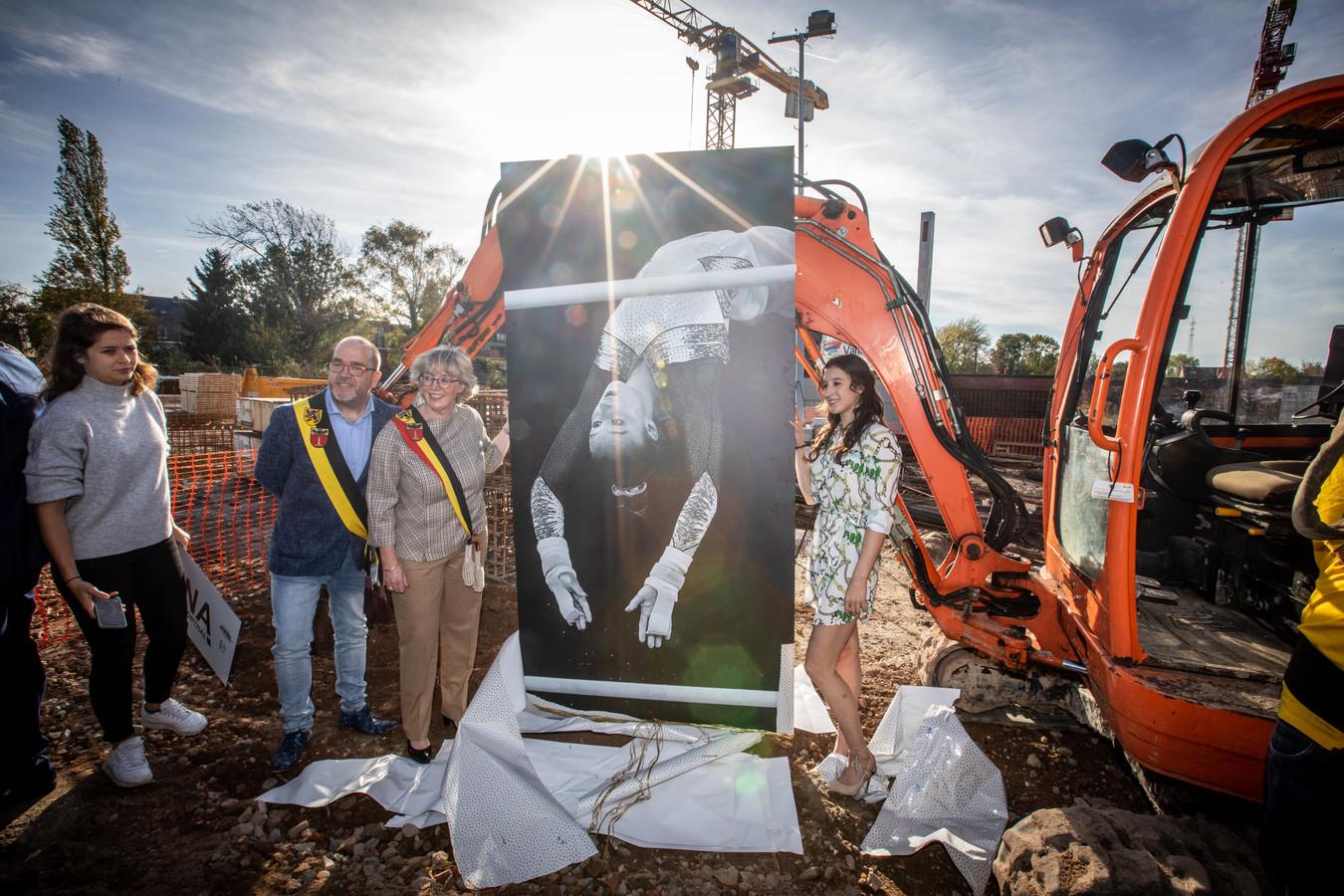 Huldiging Nina Derwael in Sint-Truiden