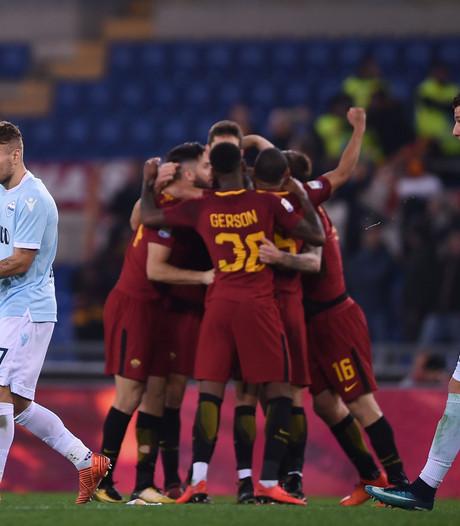 Roma verslaat Lazio in 'Derby della Capitale'