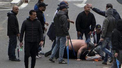 Hooligan AS Roma vuurde schot af dat Napoli-fan levensgevaarlijk trof