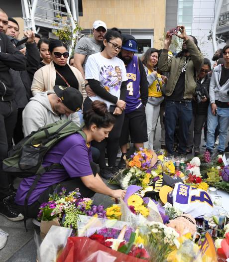 Amerika rouwt om basketballegende Bryant die 20 jaar lang de held van Los Angeles was