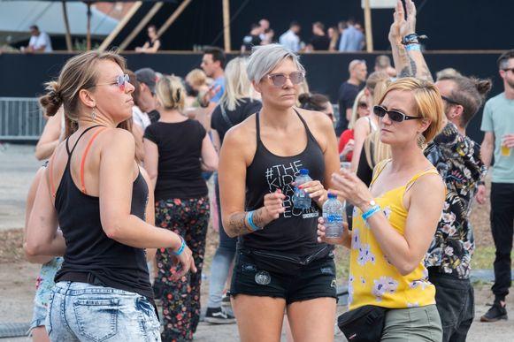 In vergelijking met vorig jaar waren er opvallend meer vrouwen aanwezig op Dystopia.