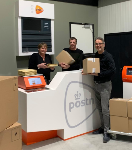 Balie voor zakelijke post in Harderwijk verhuist