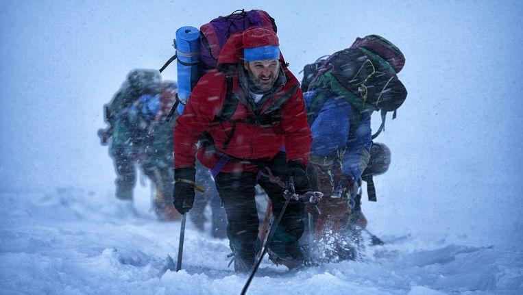 Beeld uit de film Everest. Beeld .