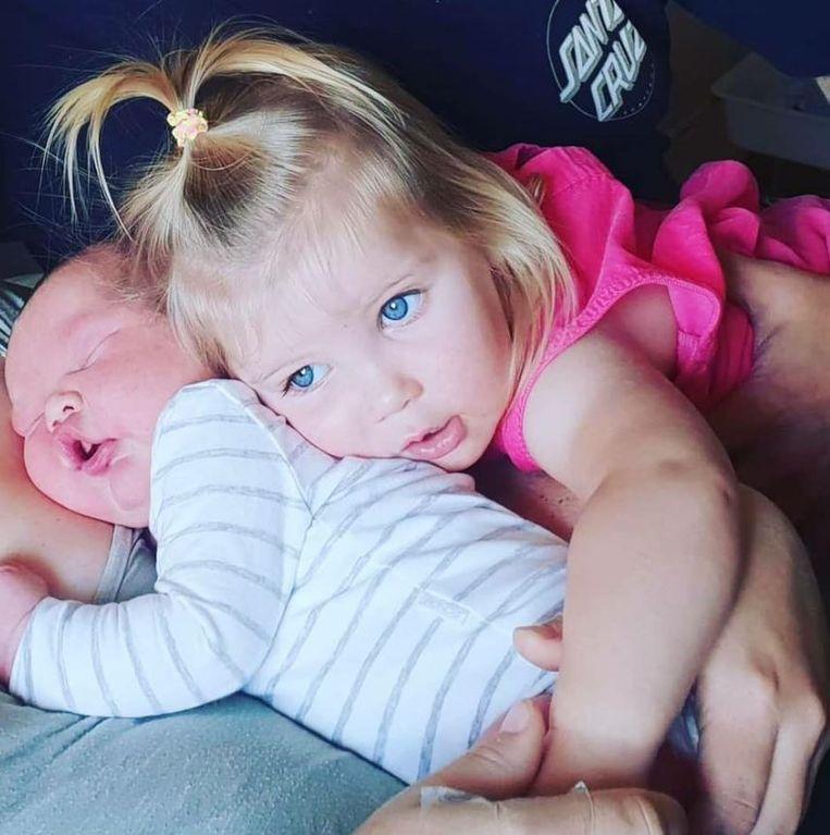 Parker is inmiddels al thuis bij zijn 20 maanden oude zusje Maddison.